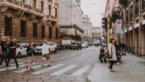 Поездка в Милан в октябре.