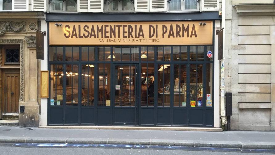 Бюджетный ресторан Salsamenteria di Parma.
