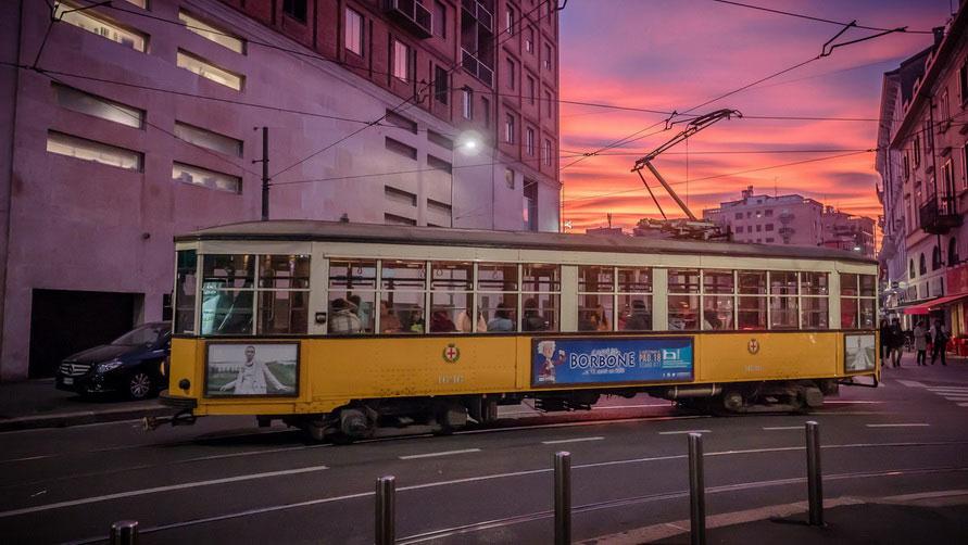 Миланский трамвай.