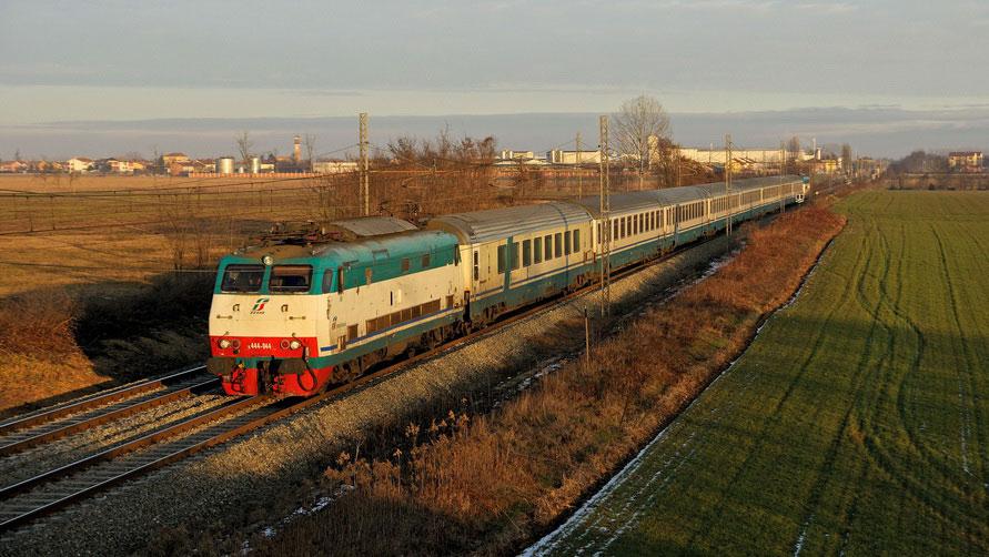 Итальянские железные дороги.