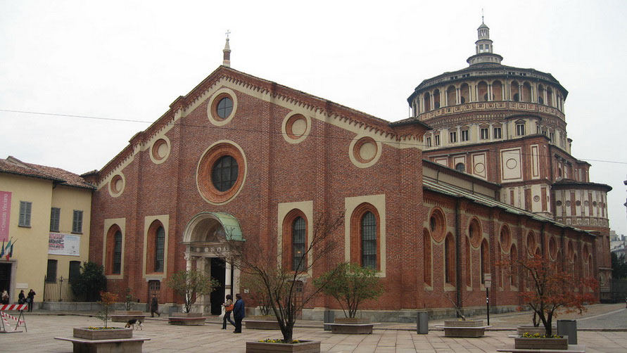 Санта-Мария-делле-Грацие.