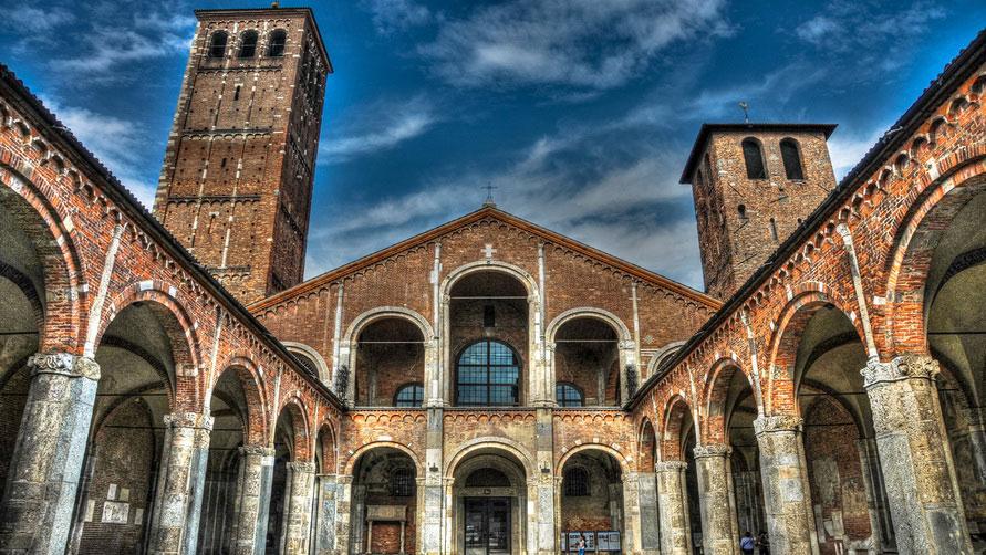 Базилика Святого Амвросия.