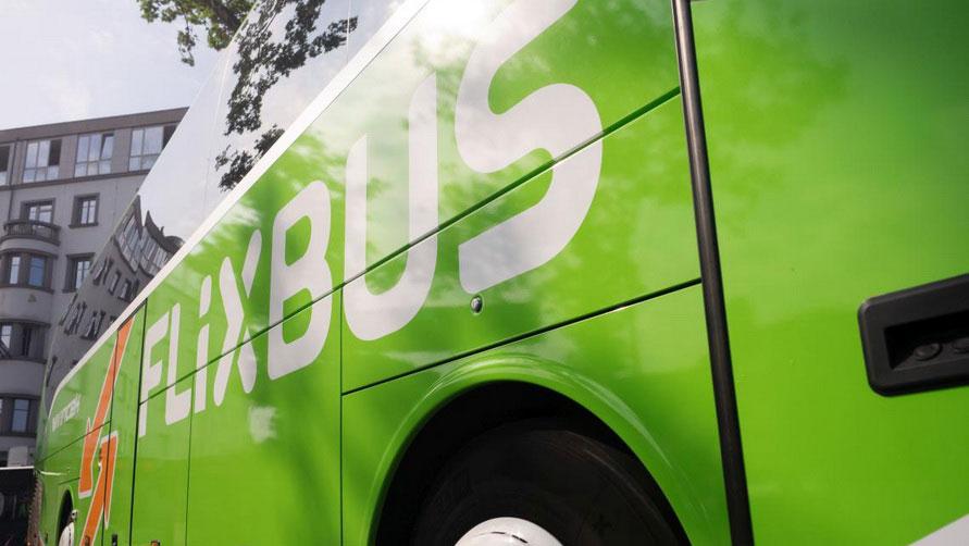 Автобус Фликсбас в Италии.