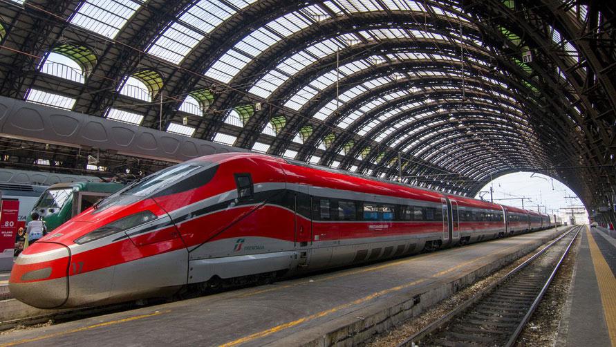 Как добраться из Милана в Рим на поезде.