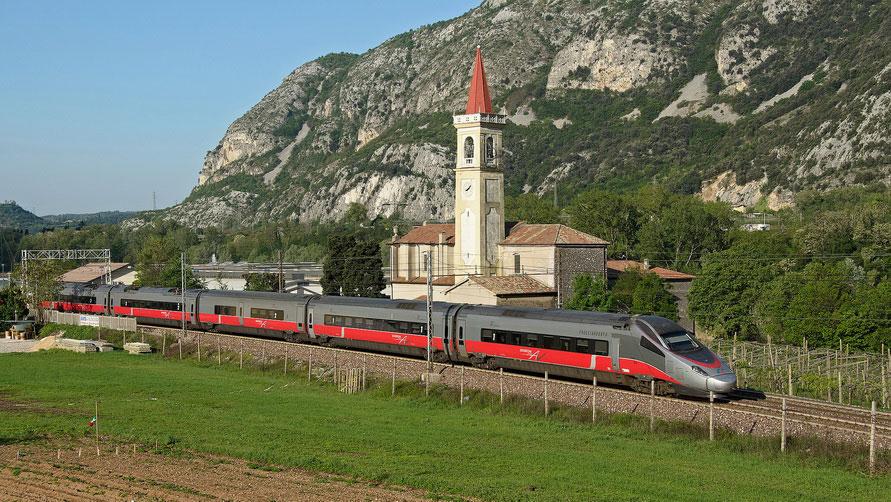 Железные дороги в Италии.