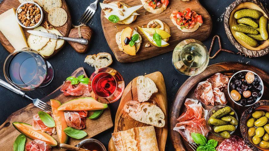 Итальянские деликатесы.