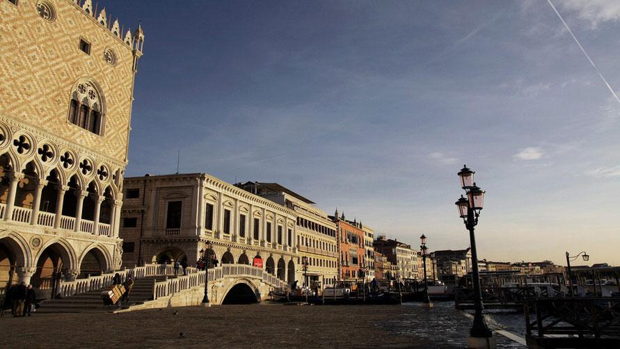 Венецианская зима.
