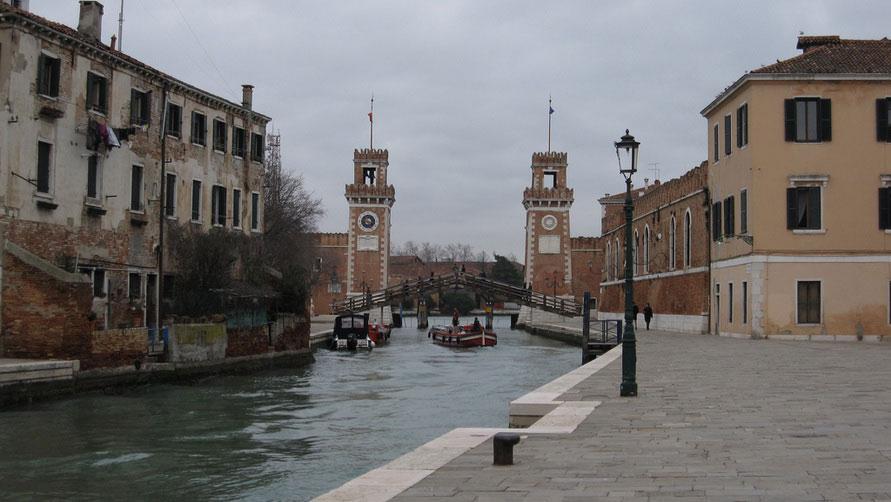 Поездка в Венецию в декабре 2019.