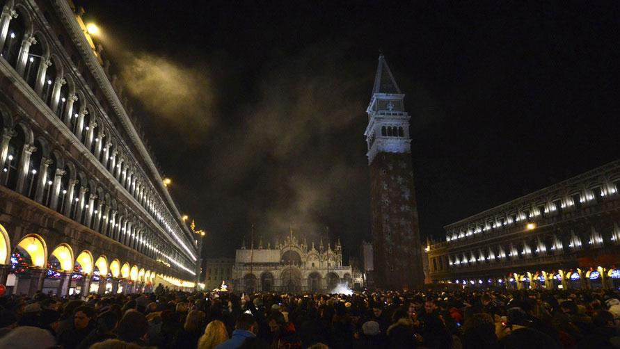 Новогодняя Венеция.