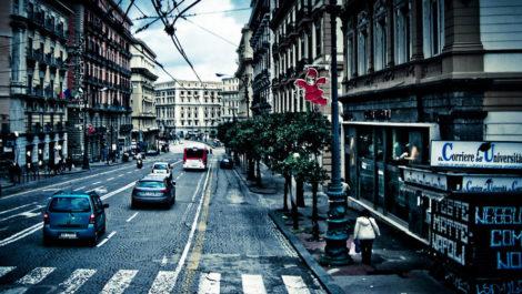 Неаполь в январе 2019 года.