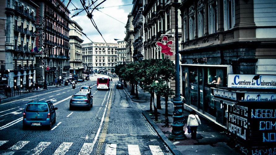 Неаполь в январе 2020 года.