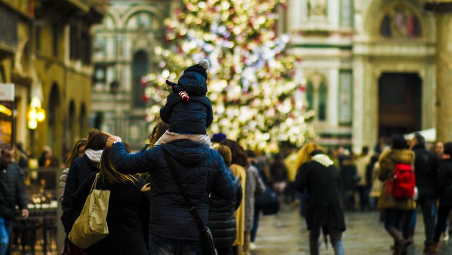 Рождественская прогулка по Флоренции.