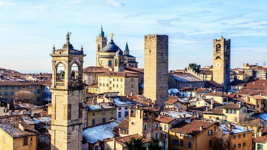 Города Италии.