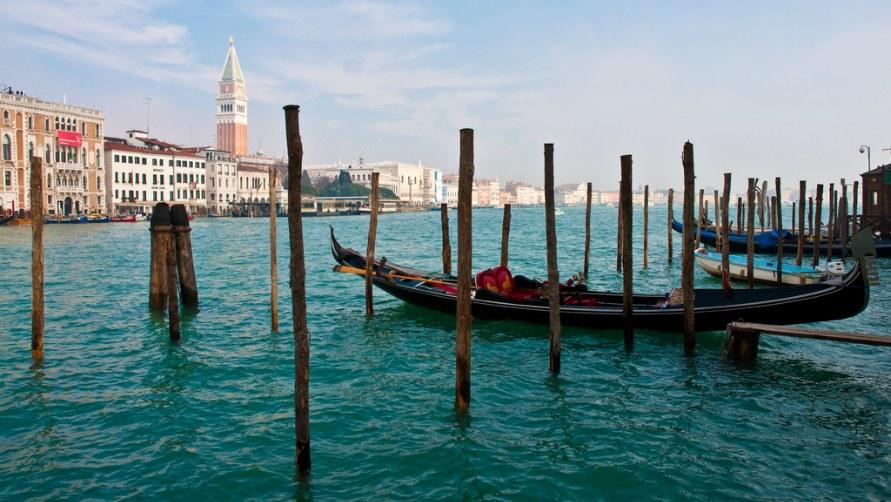 Венеция в начале весны 2020 года.