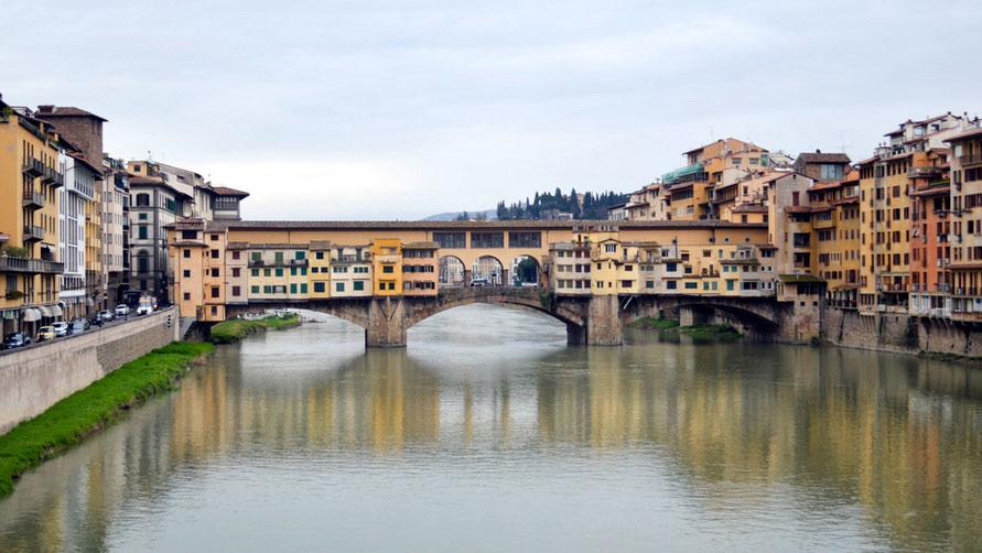 Флоренция весной 2020 года.