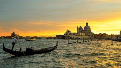 Весна в Венеции.
