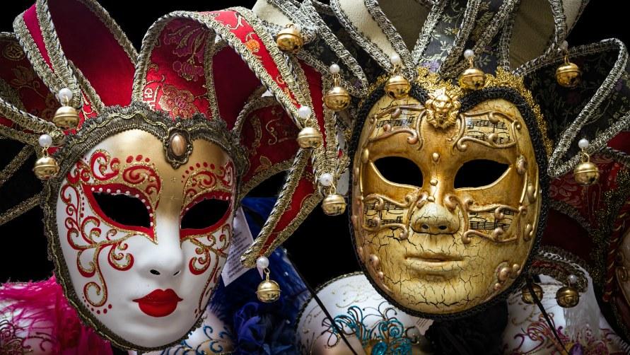 Карнавальная маска.