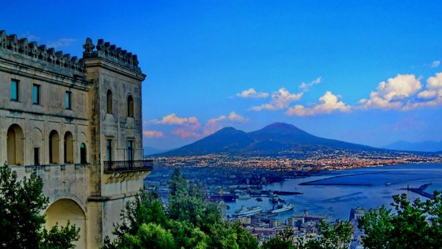 Неаполь в апреле 2020.