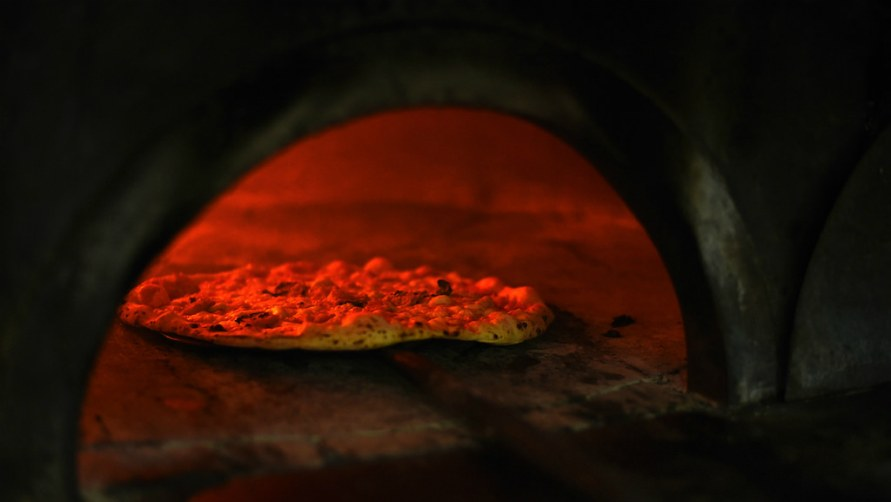 Пицца из печи.