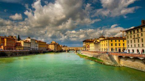 Флоренция весной.