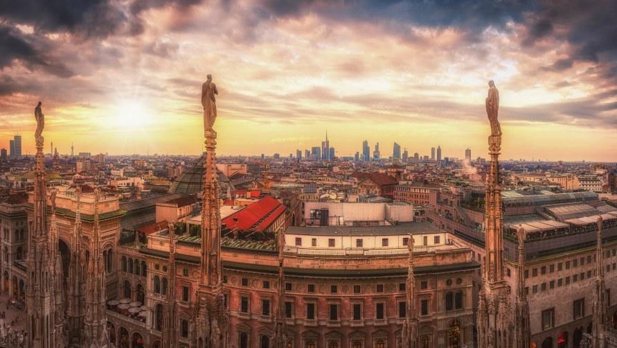 Весна 2020 в Милане.