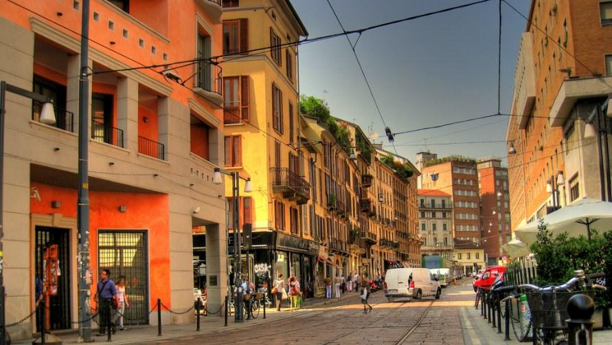 Corso diPorta Ticinese.