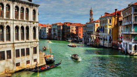 Венеция весной.