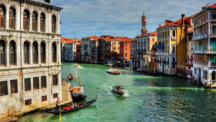 Венеция весной 2021 года.