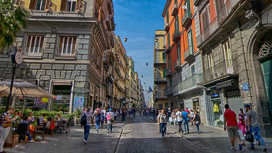 Улица Толедо.
