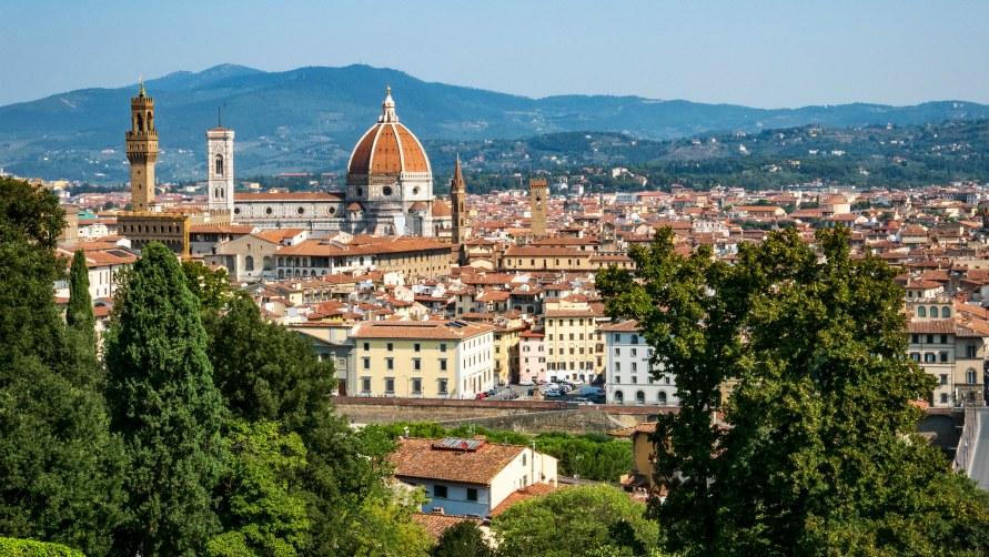 Летняя Флоренция в 2019 году.