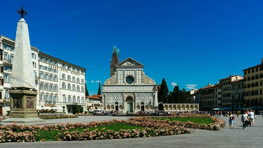 Площадь Санта-Мария-Новелла.