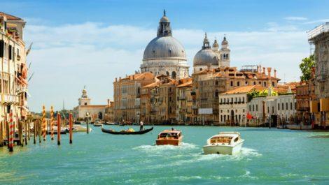 Июнь в Венеции.