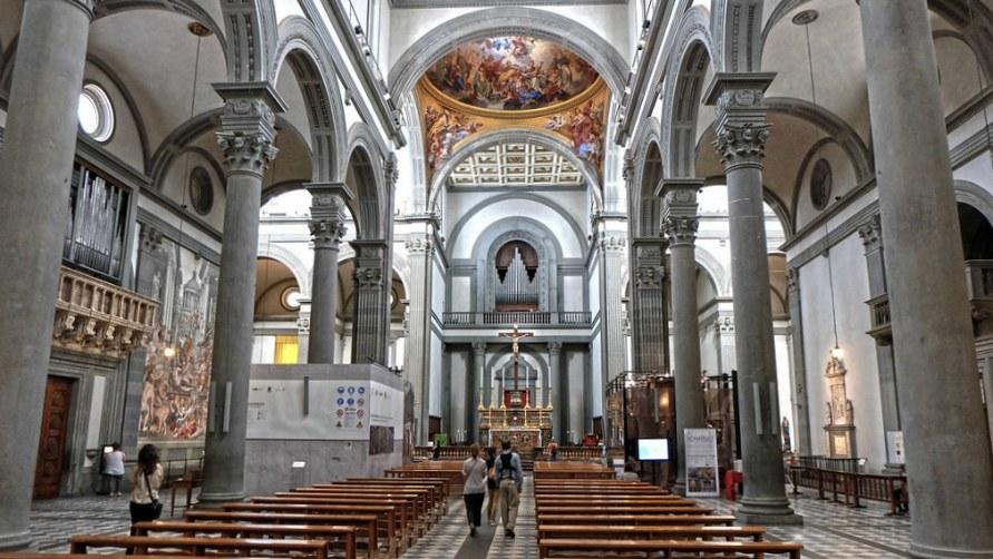 Базилика Сан-Лоренцо.