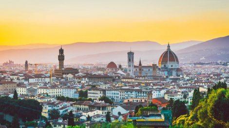 Флоренция летом.