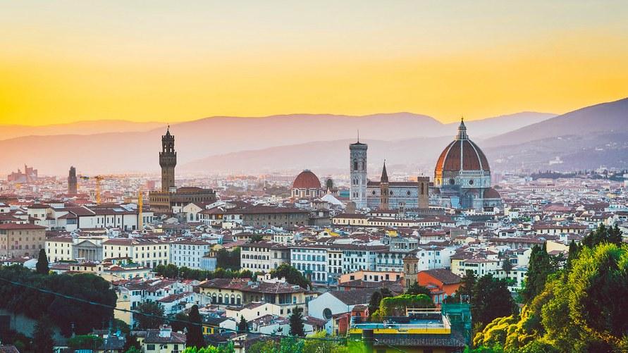 Июльская Флоренция в 2019 году.