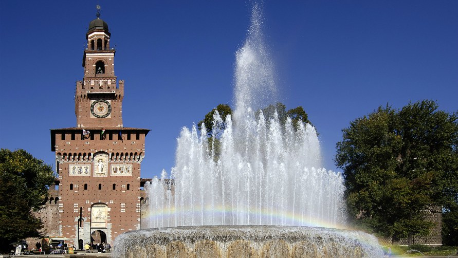 Замок Сфорца.