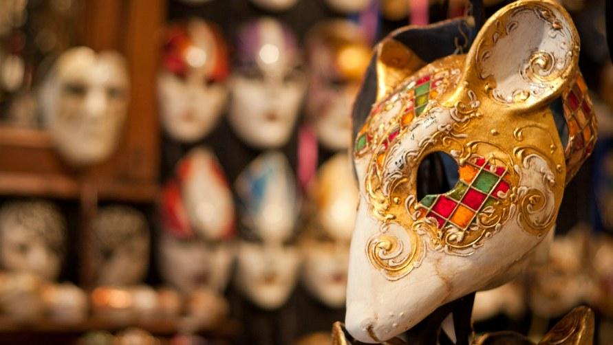 Венецианские маски.