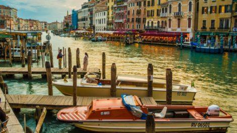 Октябрь в Венеции.