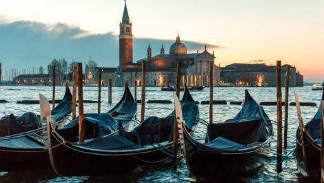 Осенняя Венеция.