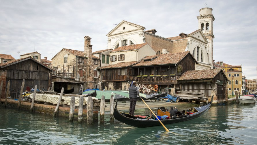 Верфь в Венеции.