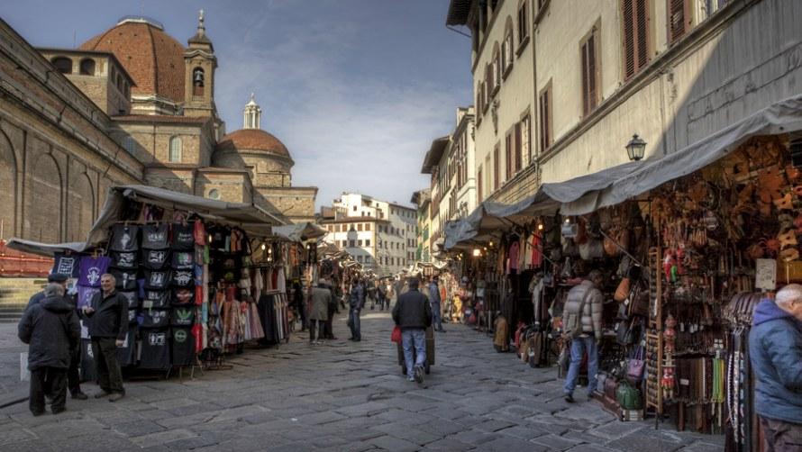 Рынок Mercato San Lorenzo.