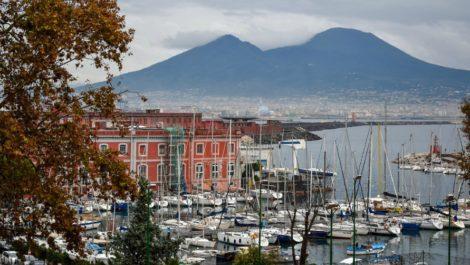 Зима в Неаполе.