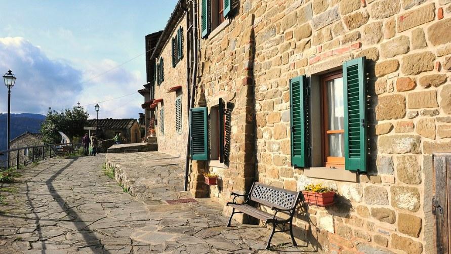Улицы Тосканы.