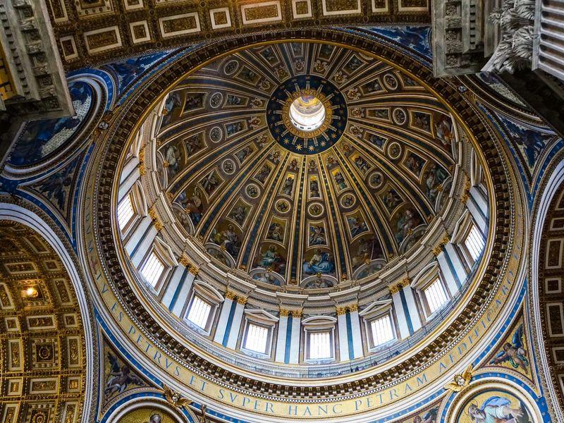 Поездка в Ватикан.