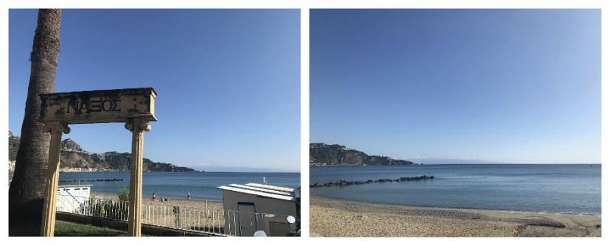 Пляжи Джардини-Наксос.